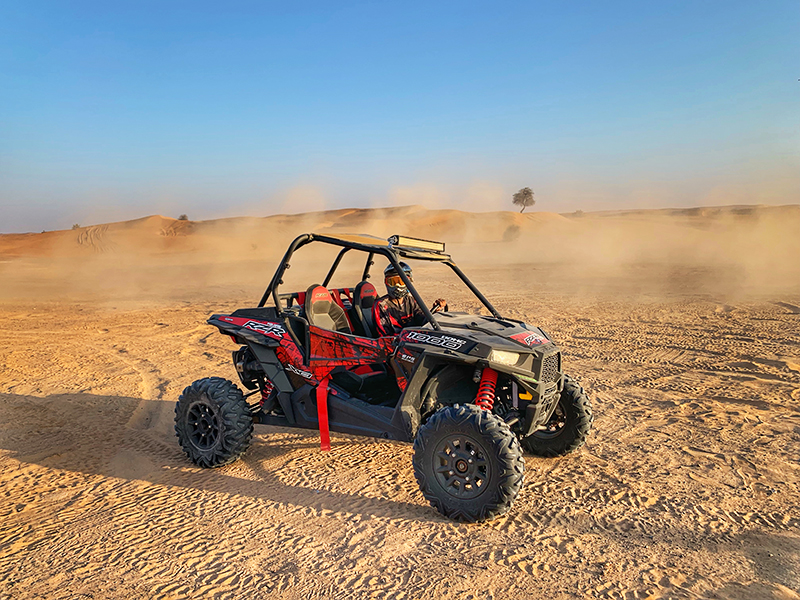 Desert buggy adventures through buggy tour Dubai