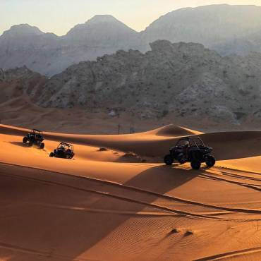 How Does It Feel To Ride A Dune Buggy In Dubai Desert?
